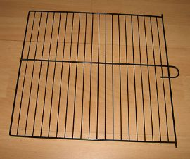 4 x BLACK WIRE DIVIDERS FOR BREEDING CANARY CAGES - SMALLER